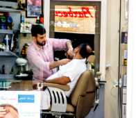 Barber Turkey